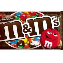 Драже M&M's с молочным шоколадом 42г