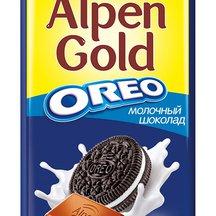 Шоколад Alpen Gold Oreo молочный