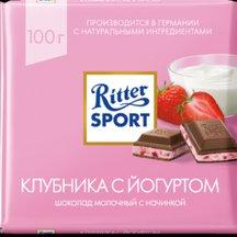 Шоколад молочный с начинкой Ritter Sport